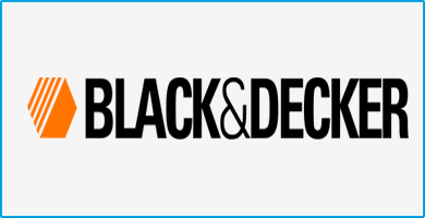 Hidrolavadoras Black and Decker logo