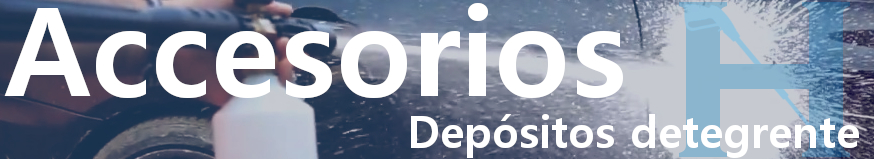 Depósito de detergente para hidrolimpiadora, depósito detergente para hidrolavadoras, accesorios hidrolimpiadora